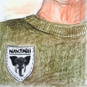 Rolle Krimidinner Blutige Safari - Jojo