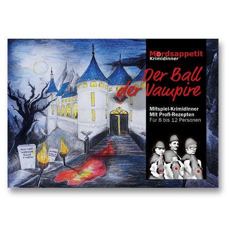 Der Ball der Vampire - Halloween Krimidinner