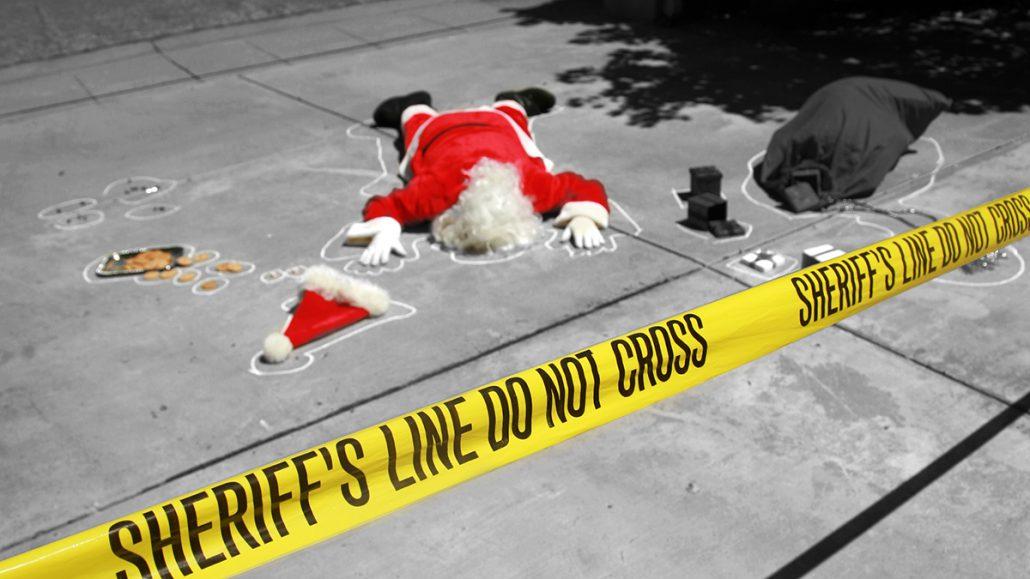 Krimidinner zu Weihnachten