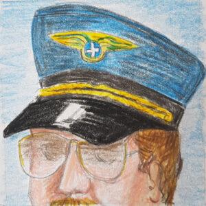 Rolle Tödliche Turbulenzen - Krimidinner Flugzeug und Filmcrew